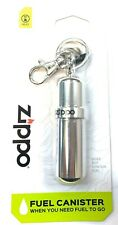 ZIPPO FUEL CANISTER with keyring uk seller free post 100% genuine zippo stock