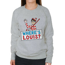 Louis Theroux Wheres Wally Women's Sweatshirt