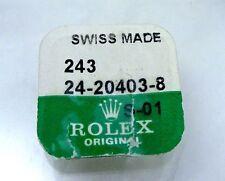 New Genuine Rolex 1601 Watch Cellini 18k Gold Crown 2.5mm Part 243 24-20403-8