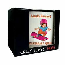 Girls Personalised Skateboarding Gifts Skateboarder Mug Skateboard Queen Present