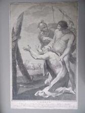 ITALIAN OLD MASTER Incisione Ritratto Sant 'Andrea, VINCENZO ANTONELLI 1771
