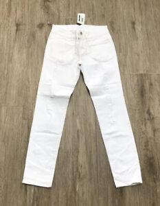 Fun Fun Girls White Jeans Age 16 Yrs Size 42 BNWT