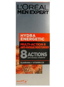 L'OREAL PARIS Men Expert Hydra Energetic Multi Action 8 Gel Cream - New