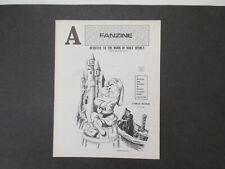 1969 Vintage WALT DISNEY FANZINE/MAGAZINE