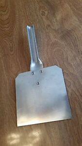 "Stainless Steel Feed Board Scraper. 5"" Heavy Duty Rabbit Cage Cleaning Tool."