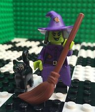 Lego 71010 Monsters Minifigures Series 14 Wicked WACKY WITCH Black Cat Minifig