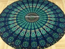Tapestry Handmade Fabric Soft Cotton Beach Towel Floral Mandala Design Fabulous
