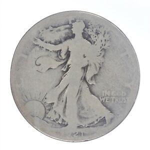 1921-S Walking Liberty Half Dollar G Good JO/1606