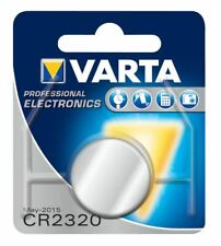 1x Varta Lithium Battery CR2320 3V 135mAh Button Coin Cell