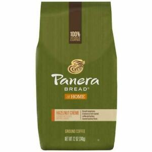 Panera Bread Hazelnut Crème, Ground Coffee, Flavored Light Roast, 12oz