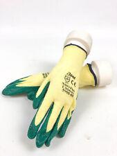 Rubber Coated Work Gloves A3 Cut Level Nitrile Coated Showa Brand Sz M 12pr