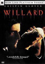 Willard ~ Crispin Glover ~ DVD ~ FREE Shipping USA
