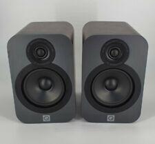 Q Acoustics 3020 Bookshelf Speakers - Walnut Finish Pair #242