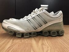 Adidas Bounce Men's Shoes Size 10 White Gray Running Athletic 677123