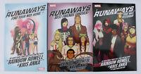Runaways (2017)  Vol. 1-3