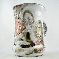 Céramique Pichet Fleur par ALBERT & PYOT THIRY à VALLAURIS 50 ceramic jug/derval