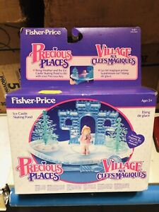 Fisher Price Treasure Place Village Au Clefs Perfectly New, Dead Stock Rare