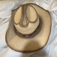 Bullhide Montecarlo Hat Co Run A Muck Trail Boss  XL Straw Cowboy Hat *lowest $*