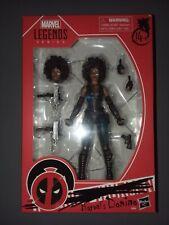"""Marvel Legends  Deadpool 2 Movie DOMINO 6"""" Figure Walmart Exclusive Brand New"""