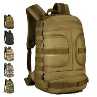 35L Military MOLLE Tactical Backpack Rucksack Gear Assault Hiking Camping Bags