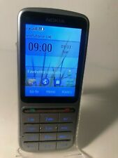 Nokia C3-01 Touch & Type - Silver Grey (Unlocked) Mobile Phone