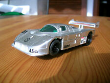 Modellbau-Rennbahn - & Slotcars von Mercedes im Maßstab 1:43