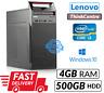 Lenovo ThinkCentre Edge 72 Tower Intel Core i3 2120@3.30GHz 4GB 500GB HDD Win 10