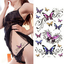 Butterfly Stickers Temporary Waterproof Tattoo Body Art Sweat Proof UK Stock