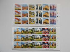 2011 U.K. A-Z 1st Series Set of 12 in Cylinder Blocks of 18 Superb U/M Cat £48