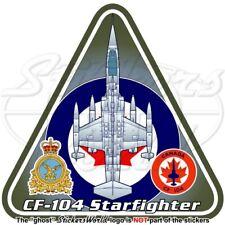 F-104 STARFIGHTER CANADA Lockheed-Canadair CF-104 Canadian AirForce RCAF Sticker