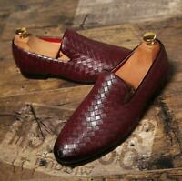 1 Mens slip on Loafers Italian Casual comfy Driving moccasins Oxfords Shoes