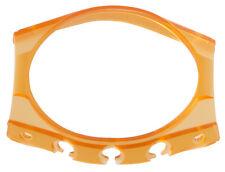 Techno marine Womens 21mm Orange Transparent Rubber Watch Cover