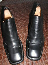 chaussures costume national by Y.GUARDI cuir noir 39