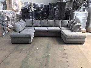 Kingston Brand New U Shape Fabric Corner Sofa   Good quality brand new