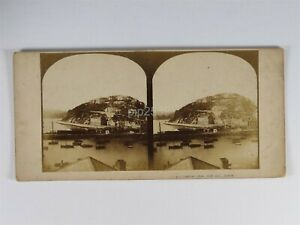 Torquay From Park Hill - Stereoview c1850s By Stanislaus