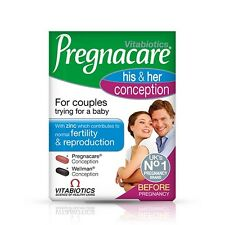 Vitabiotics Pregnacare His & Hers Conception for Couples (60 Tablets)