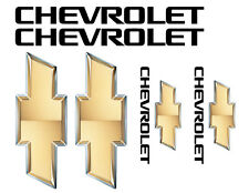 Chevy vinyl decal set