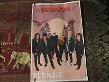 Blondie Concert Poster 2018 Bumbershoot Seattle