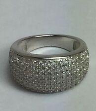 Zircon Cubic Zirconia Sterling Silver Fine Jewellery