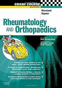 Rheumatology and Orthopaedics Paperback Daniel Marsland