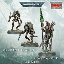 New On Sprue - Necron Plasmancer and Cryptothalls - Indomitus Edition- Warhammer