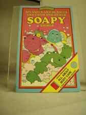 Vintage Avon Sweet Pickles Splashes and Bubbles Body Care Fun Book & Record NEW