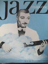 JAZZ MAGAZINE 178 LEGENDE DJANGO REINHARDT GORDON BECK BERGAMO FESTIVAL 1970
