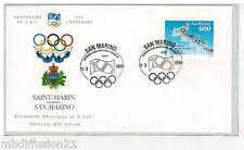1994**FDC 1°JOUR!!**COMITE INTERNATIONAL OLYMPIQUE-SAINT-MARIN**SAN MARINO