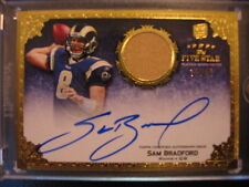 2010 Topps Five Star Sam Bradford RC Auto Jersey Patch #/40 Minnesota Vikings