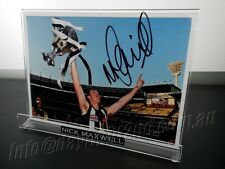 ✺Signed✺ NICK MAXWELL Photo & Frame COA Collingwood Magpies 2010 2017 Guernsey
