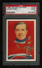 PSA 9 DIDIER PITRE  1985 Hall of Fame Hockey Card #130
