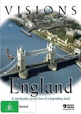 VISIONS OF ENGLAND * NEW SEALED ALL REGION DVD  * AERIAL TOUR * NATURAL BEAUTY