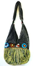 R249 New Trendy & Artistic Shoulder Drop Cotton Bag Hand Made in Nepal