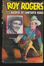 Roy Rogers & The Raiders of Sawtooth Ridge HC DJ (Whitman 2329) 1946